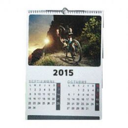 Calendario pared grapado DIN-A5 - Pack 50 unidades